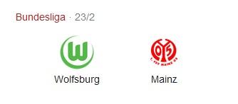 Pronostico Partita Wolfsburg vs Mainz